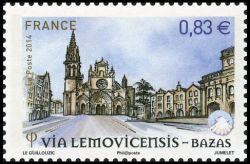 Les chemins de Saint Jacques de Compostelle, Via Lemovicemsis - Bazas