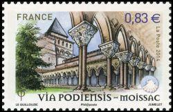 Les chemins de Saint Jacques de Compostelle, Via Podiensis - Moissac