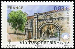 Les chemins de Saint Jacques de Compostelle, Via Turomensis - Pons