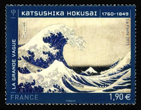 Katsushika Hokusai (1760-1849 ) La grande Vague
