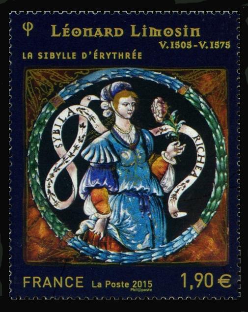Léonard Limosin émailleur du roi, Sibylle d'Erythrée
