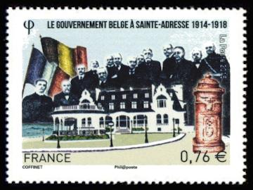 Le gouvernement belge à Sainte-Adresse (1914-1918)