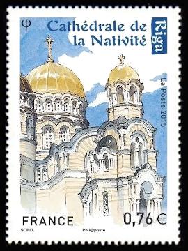 Capitales européennes Riga, Cathédrale de la nativité