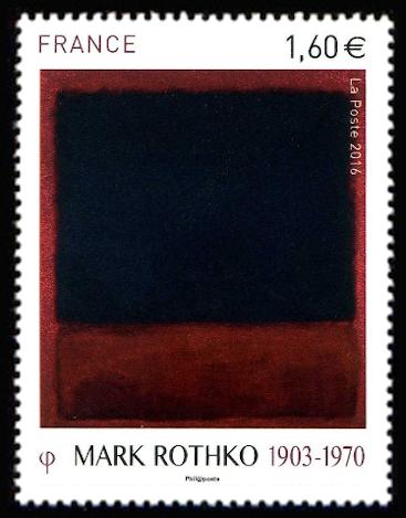 'Les couleurs de l''enfer de Marck Rothko (1903-1970)'
