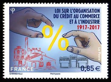 Loi sur l'Organisation du Crédit au commerce et à l'Industrie 1917-2017