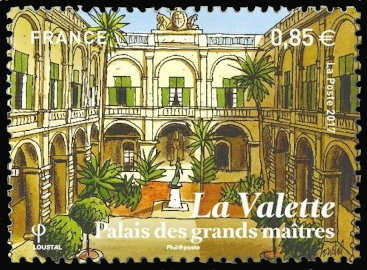La Valette, capitale de Malte, Palais des Grands Maîtres