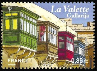La Valette, capitale de Malte, les Gallarijas