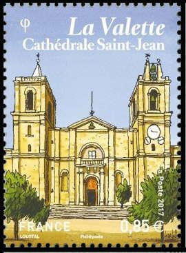La Valette, capitale de Malte, Cathédrale Saint-Jean