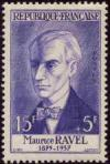 timbre N° 1071, Maurice Ravel (1875-1937) compositeur