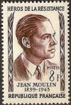 timbre N° 1100, Jean Moulin (1899-1943)