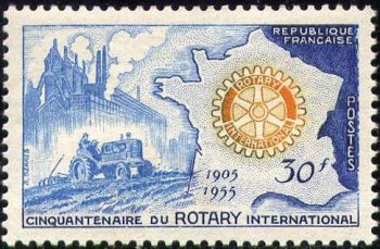 Cinquantenaire du Rotary international