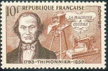Barthélémy Thimonnier (machine a coudre)