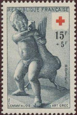 Croix rouge l'enfant à l'oie