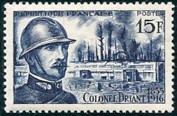 Colonel Driant (1855-1916) à Verdun