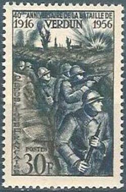 40èm anniversaire de la victoire de Verdun
