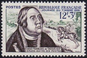 Journée du timbre - François de Tassis