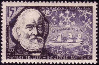 Charles Tellier (1828-1913) et navire frigorifique
