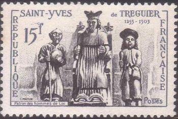 Saint Yves de Tréguier (1253 -1303) patron des hommes de loi