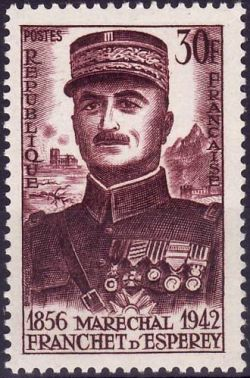 Maréchal Franchet d'Esperey (1856-1942)