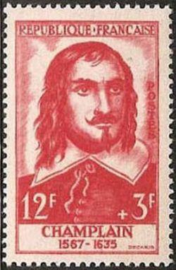 Samuel de Champlain (1567-1635) explorateur