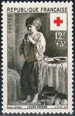 Louis Le Nain «Jeune Paysan» - Croix rouge