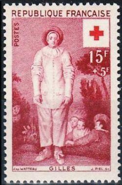 Watteau «Le Gilles» - Croix rouge