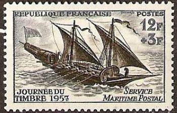 Journée du timbre - Service maritime postal