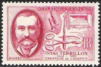 Octave Terrillon (1844-1895) créateur de l'asepsie chirurgicale