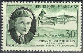 Etienne Ochhmichen (1884-1955) inventeur de l'hélicoptère