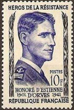 Honoré d'Estienne d'Orves (1901-1941)