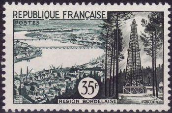 Région Bordelaise (la Gironde et puits de pétrole de Parentis)