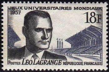 Léo Lagrange (1900-1940) Jeux univertsitaires mondiaux à Paris