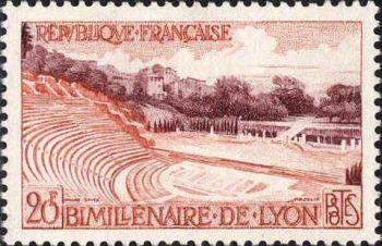Bimillenaire de Lyon - Le théâtre romain de Fourvières
