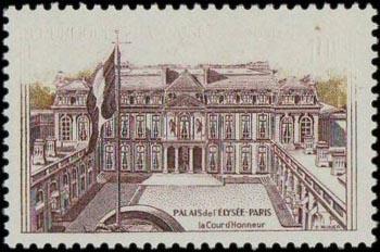Palais de l'Elysées à Paris