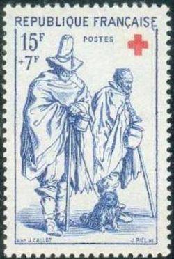 L´Aveugle et le Mendiant - Croix rouge