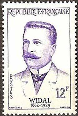 Fernand Widal (1862-1929) médecin et bactériologiste français