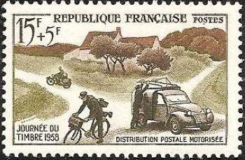 Journée du timbre - Distribution postale motorisée
