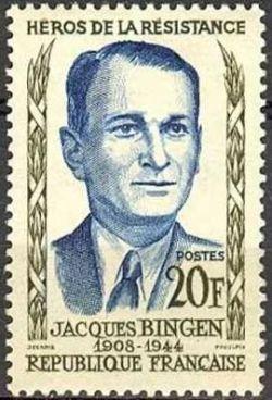 Jacques Bingen (1908-1944) héros de la résistance
