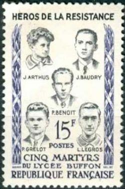 Les 5 martyrs du lycée Buffon