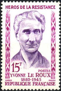 Yvonne le Roux (1882-1945) héros de la résistance