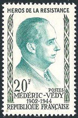 Medéric Védy (1902-1944) héros de la résistance