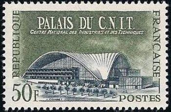 Palais du C.N.I.T (centre national des industries et des techniques)