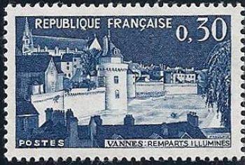 Remparts illuminés de Vannes