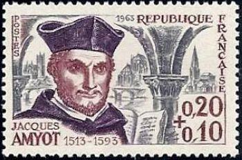 Jacques Amyot (écrivain 450èm anniversaire de sa naissance)