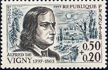 Alfred de Vigny (poète centenaire de sa mort)