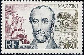 F Mazzini, homme d'état italien