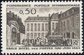 Hôtel des Postes à Paris