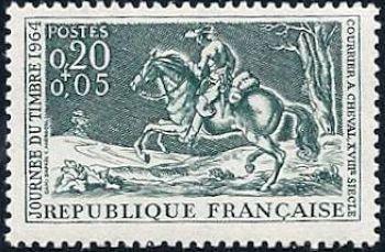 Journ e du timbre courrier cheval du xviii me si cle for Salon du timbre 2017