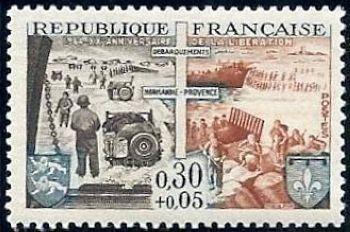 Vingtième anniversaire des débarquement de Normandie et de Provence