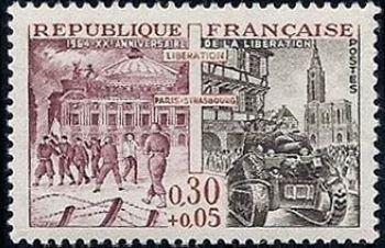 Libération de Paris et Strasbourg